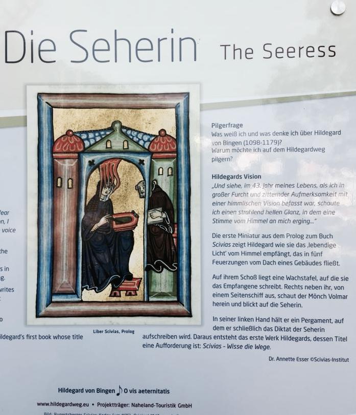 1. Etappe: Hildegard von Bingen Pilgerweg