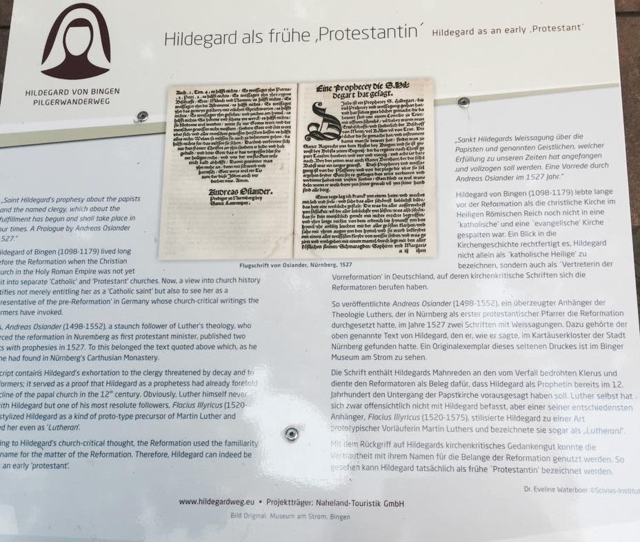 3. Etappe: Hildegard von Bingen Pilgerweg