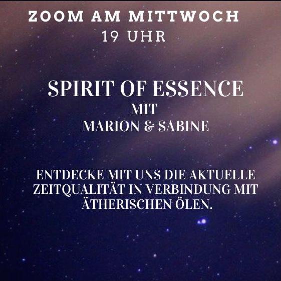 Spirit of Essence ätherische Öle Zoom